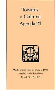 WORLD CONFERENCE on CULTURE 1998.